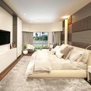 舒适豪华的卧室效果图