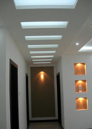 彰显性格品位的走廊吊顶装修效果图