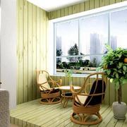 绿色飘窗装修效果图