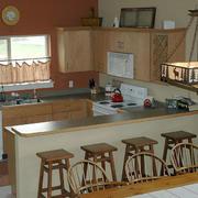 大方宜人的厨房装修效果图