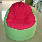 色彩明亮的懒人沙发