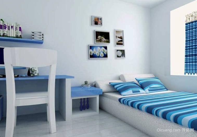 温馨恬静的小卧室装修效果图展示