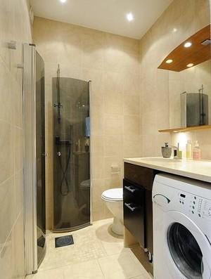 简单时尚的小户型家居小卫生间装修效果图