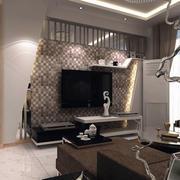 经典的客厅电视背景墙效果图