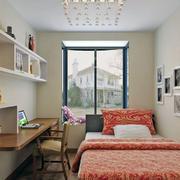 现代混搭型小卧室