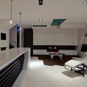 蜂巢公寓客厅装修设计