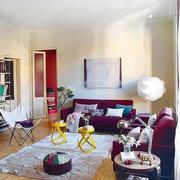 潮流公寓客厅装修设计