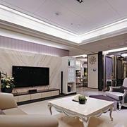 现代公寓客厅装修设计