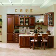 欧式古典三居橱柜装修设计