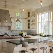实用美观欧式厨房橱柜设计