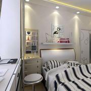 清爽型小卧室