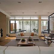 客厅木质茶几设计
