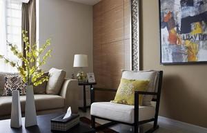 现代都市精致北欧风情20平米客厅装修效果图
