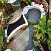 经典露台别墅阳台设计