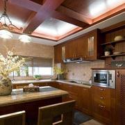 美式风格厨房设计图