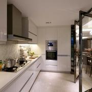 厨房旋转门设计