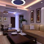 舒适的公寓客厅装修设计