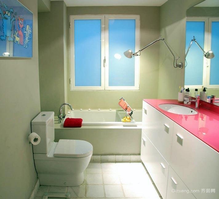 现代精致的两居室小卫生间装修效果图