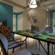 东南亚装修风格之小户型餐厅