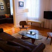 复古公寓客厅装修设计