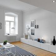 客厅收纳柜设计