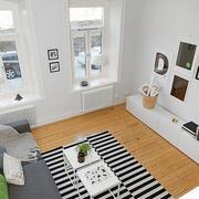 现代客厅俯视图