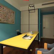 小户型家居之黄色餐桌