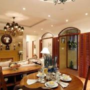 美式客厅经典门饰