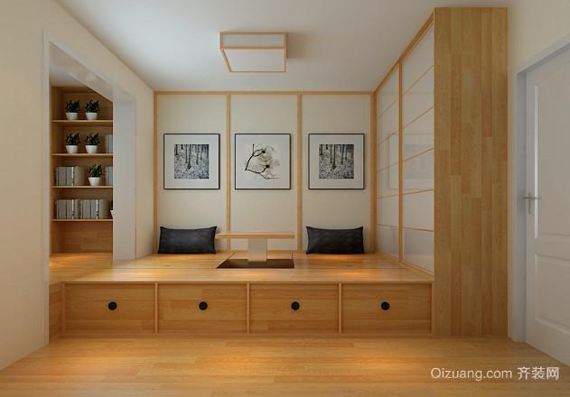 回归自然:80平田园风格室内装修效果图