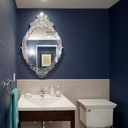 卫生间镜子装饰