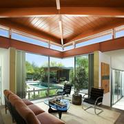 美式客厅吊顶装修