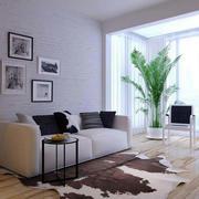 单身公寓客厅装修设计