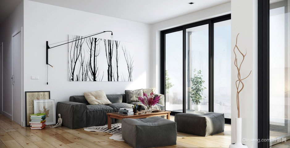 2015别墅宜家风格客厅装修效果图