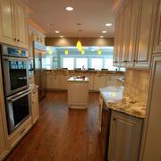 欧式新古典别墅厨房橱柜装修