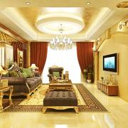 华丽型小户型客厅