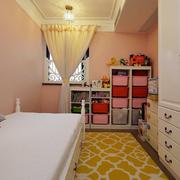 欧式儿童房榻榻米床展示