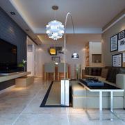 时尚公寓客厅装修设计