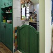 地中海厨房门设计