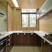 厨房木质吊顶设计