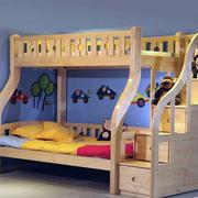 简约时尚儿童房双层床设计