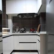 时尚厨房整体橱柜设计