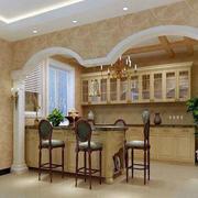 豪华欧式别墅橱柜装修设计