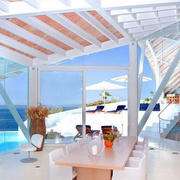 海滨风情别墅阳台设计