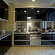 亮丽型厨房装修
