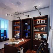 家居书房书架装饰设计