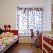 恬静唯美单身公寓小卧室装修