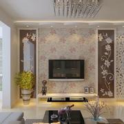 欧式风格电视背景墙