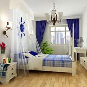 清新自然的地中海卧室