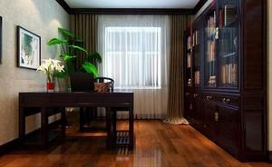 现代摩登家居书房装修设计效果图