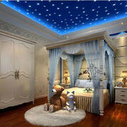 地中海风格卧室吊顶
